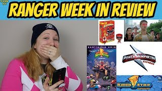 RWIR 61 | UPCOMING SNS FINALE | CONVENTION NEWS |  DRAGONZORD TO LEGACY WARS | POWER RANGERS NEWS