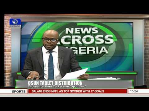 News Across Nigeria:  Students Recieve