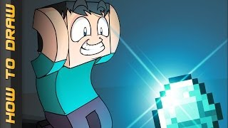 STEVE | How to Draw Epic Minequest thumbnail