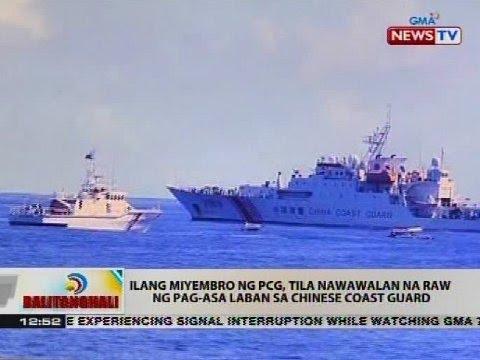 Coast guard ng Pilipinas at China, nagkatapatan sa bahagi ng Bajo de Masinloc