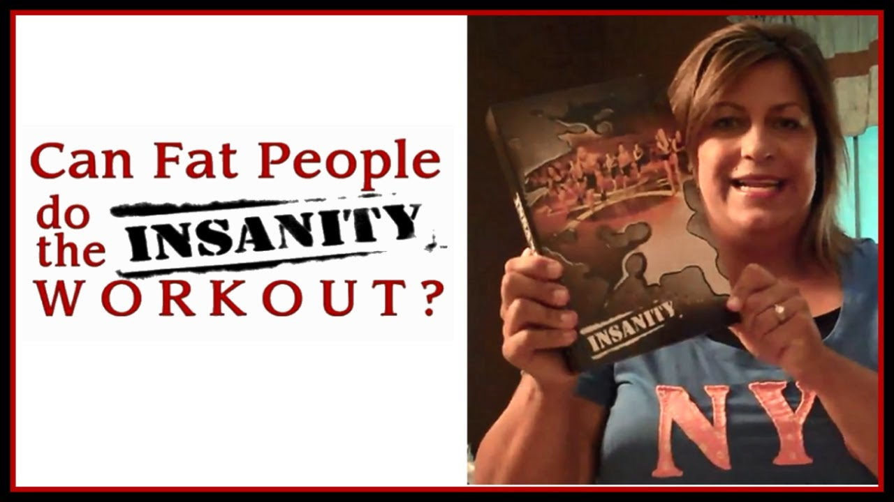 1 CAN FAT PEOPLE DO THE INSANITY WORKOUT? - YouTube