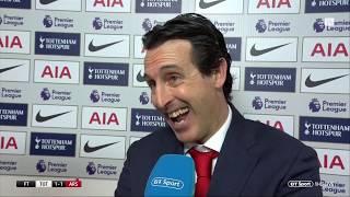 Emery: I liked the referee today | Tottenham vs Arsenal reaction