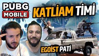 Gezici Suikast Timi - Silah Çarkı Challenge /w Egoist Pati - PUBG Mobile