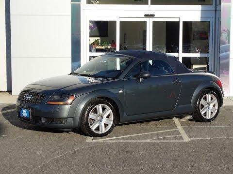2005 audi tt roadster quattro t8922c youtube. Black Bedroom Furniture Sets. Home Design Ideas