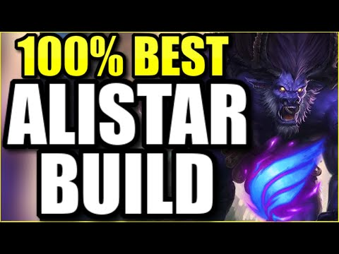 THIS is the 100% BEST ALISTAR SUPPORT BUILD for SEASON 11 (PLAY LIKE ALICOPTER)