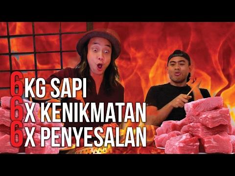 GILAA!!!! 6 Kg DAGING SAPI ABIS!!!! HANAMASA RUGI  | Ayo Makan | GERRY GIRIANZA ft. TANBOYKUN