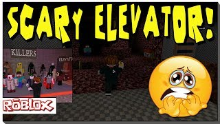 ROBLOX - DYING IN THE SCARY ELEVATOR - FNAF GOLDEN FREDDY!