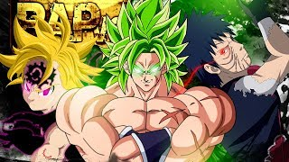 Rap || Voltei da Morte || ( Broly, Meliodas e Obito) - Instinto Animal || VG Beats