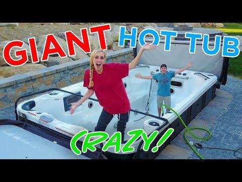 GIANT HOT TUB CRAZY IDEA! We Think We Should Do It!