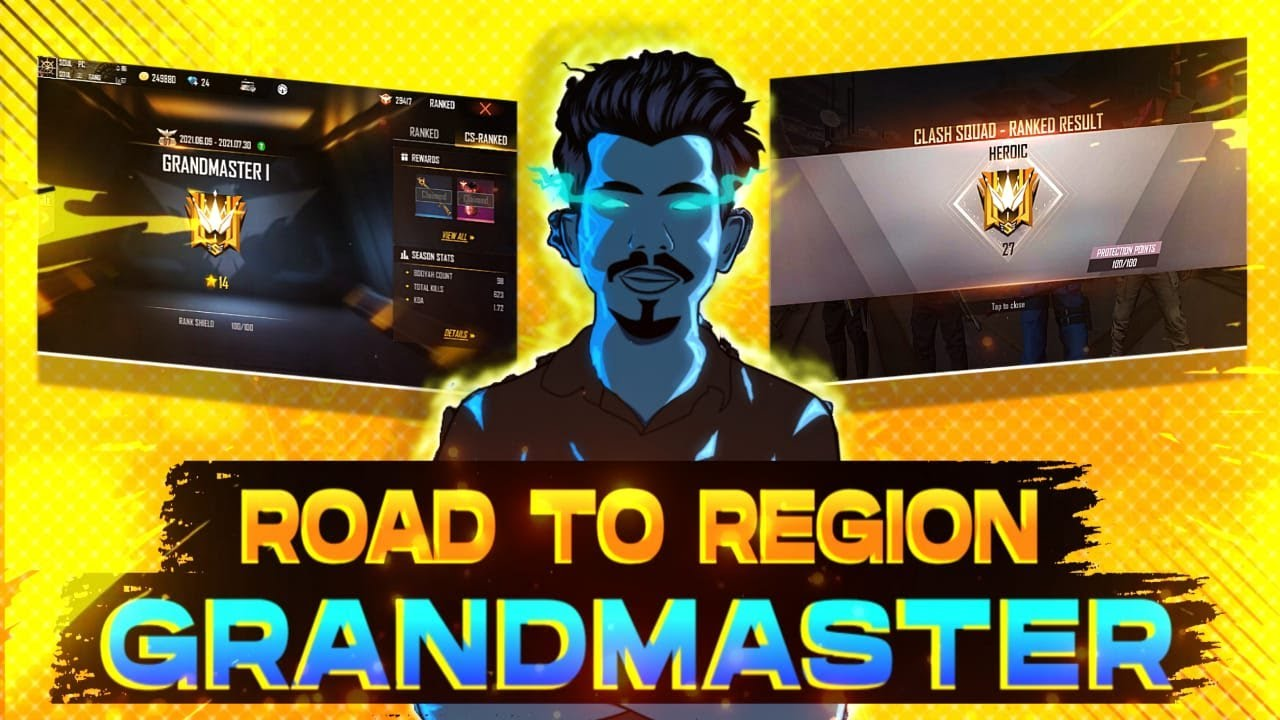 Hackers Thyre.💔 Finaly Region Top..😍• Grand Master അടിച്ചു   Soul Is Live😤   Free Fire Malayalam