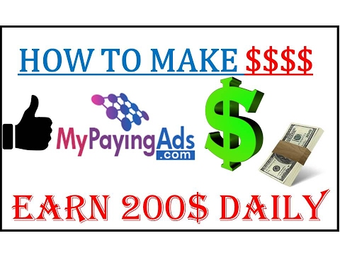 My Paying Ads Make Money Online | Make 200$ A Day