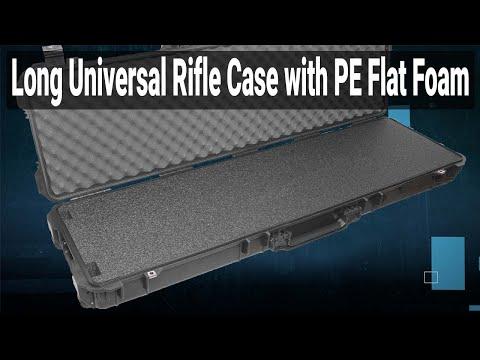 Long Universal Rifle Case (Gen 2) with PE Flat Foam - Video