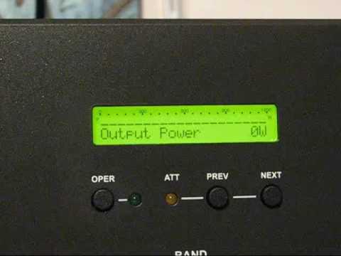 ACOM 1000 amplifier