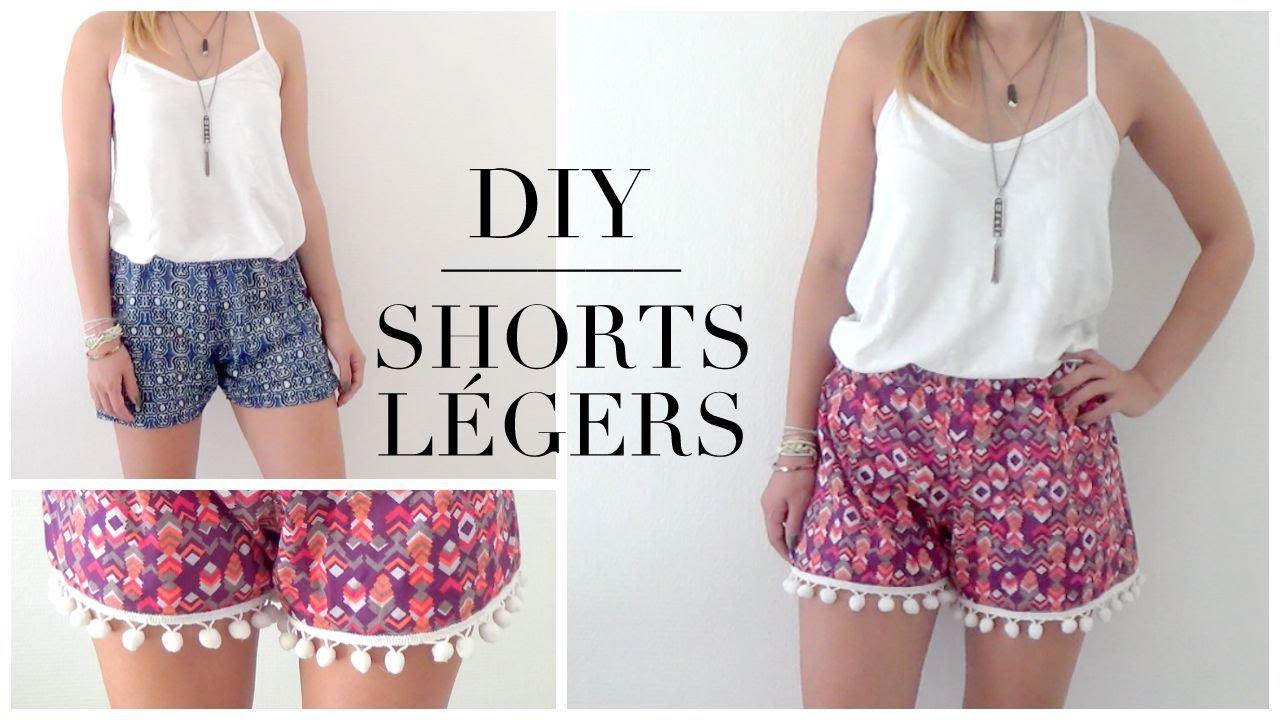 DIY | Shorts simple et à pompon┆Alyssia -