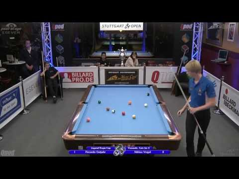 Regio-Cup 2013, 03 Gutjahr-Vogel, 10-Ball, Pool-Billard, Cue Sports