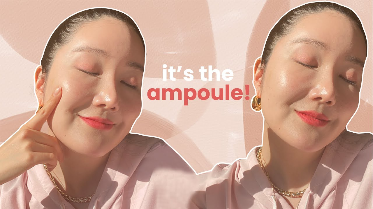 Maximize your skincare result! Make your ampoule work better! #HealthySkin
