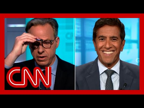 Tapper reacts to doctor's unhinged vaccine claim about magnets