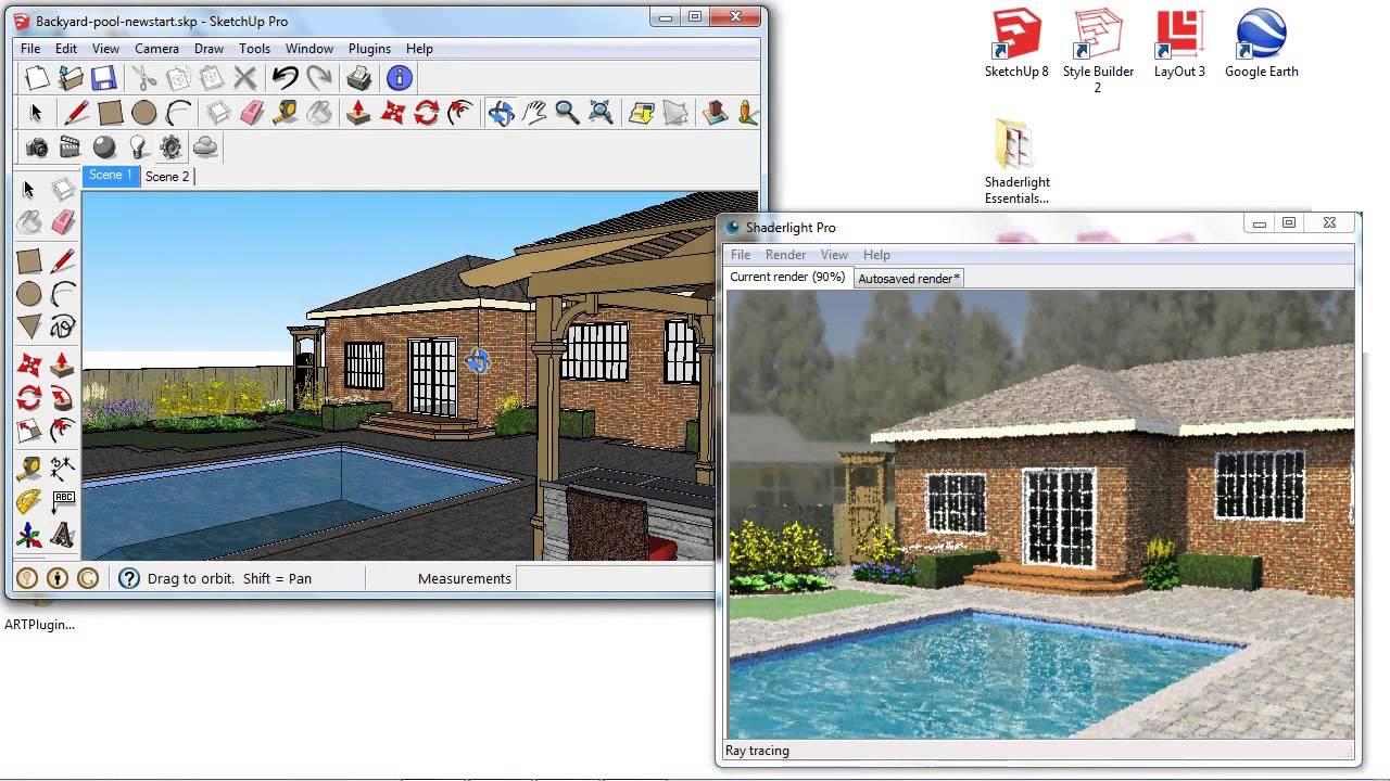 shaderlight webinar rendering exterior scenes youtube