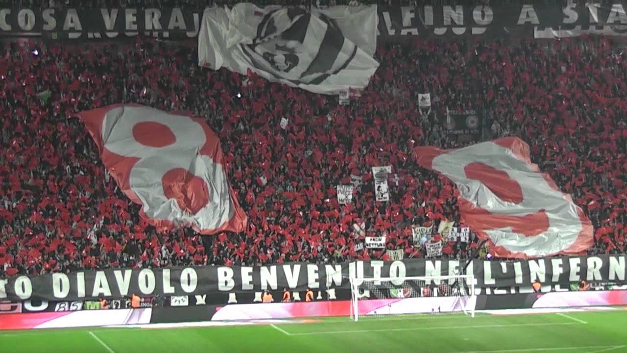 Juventus Milan 2-2 Curva Sud Milano ''FORMAZIONE DELLA