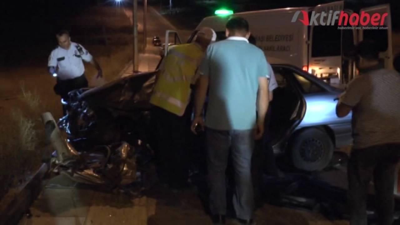 Gölbaşı'nda 2 ayrı kazada 2 ölü