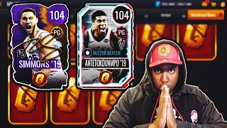 OPENING UP MY FINAL GOLDEN TICKET PACKS IN NBA LIVE MOBILE!!!