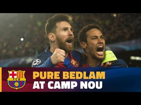 FC Barcelona - PSG (6-1): Final celebrations at Camp Nou