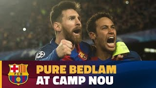 vuclip FC Barcelona - PSG (6-1): Final celebrations at Camp Nou