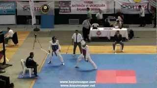 63kg Cankut Cekem  - Suleyman Demir  (2012 Turkish Taekwondo Championships Under -21)