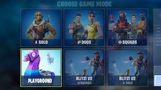 New Fortnite Update HERE | PLAYGROUND LTM + SKY STALKER Skin Coming | LEVEL 99 (PLAYGROUND LTM Mode)