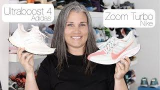 Nike Zoom Turbo vs. Adidas Ultra Boost