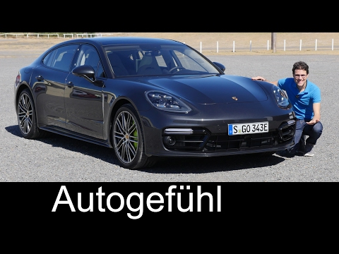 Porsche Panamera FULL REVIEW Hybrid Executive test driven 20