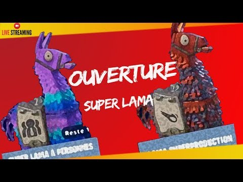 "fortnite-sauver-le-monde-""opening-super-lama-a-personnes-""-ps4/pc-720p-hd-fr"