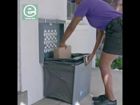 Ucella Smart Post Receiver The World's First Package & Delivery Mailbox