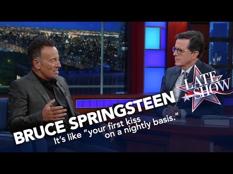 The Boss Has A Transcendent Experience At His Concerts, Too