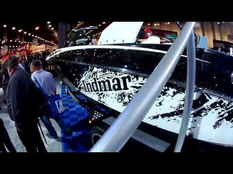 2014 Indmar Marine Ford Raptor 6.2 Engine At 2013 SEMA Show Las Vegas 11-5-13