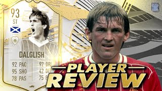 KING KENNY! 😍👑 93 SBC PRIME ICON MOMENTS KENNY DALGLISH REVIEW - FIFA 21 ULTIMATE TEAM