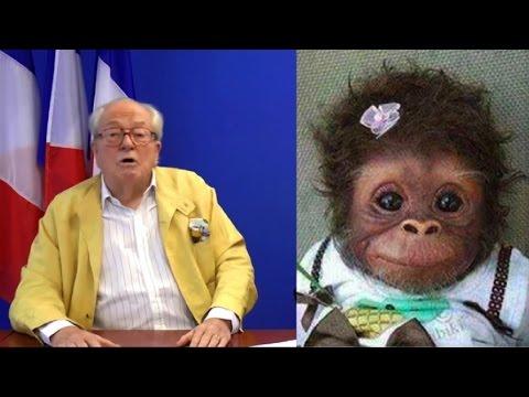 Jean Marie Le Pen sur la caricature de Taubira