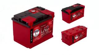 Замер пусковых токов на аккумуляторах марки E-LAB.