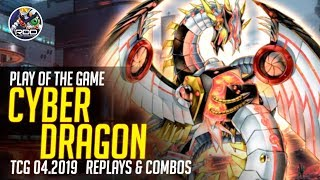 PLAY OF THE GAME CYBER DRAGON! Post DUPO Combos amp Replays