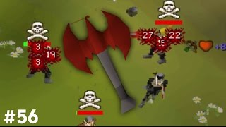 OSRS Pure to PKing 56 Dragon thrownaxe