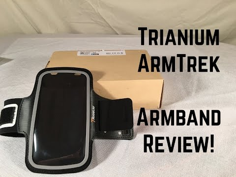 Trianium ArmTrek Universal Sports Band Review!