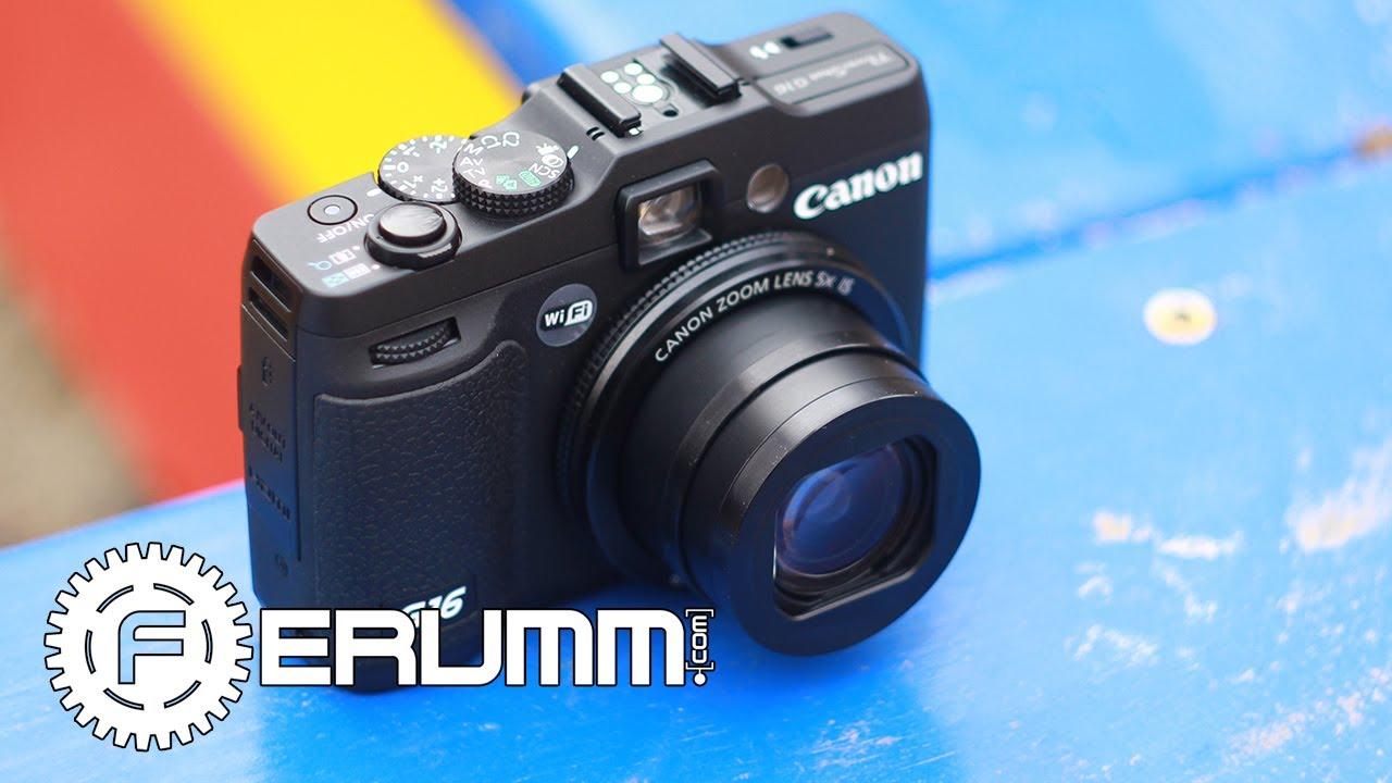Canon powershot g16 digital camera digital cameras spec sheet.