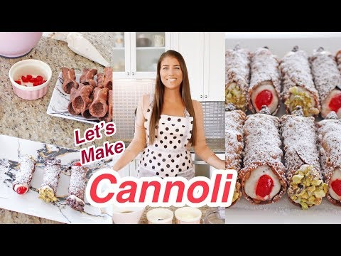 My Cannoli Recipe | Homemade Shells & Filling