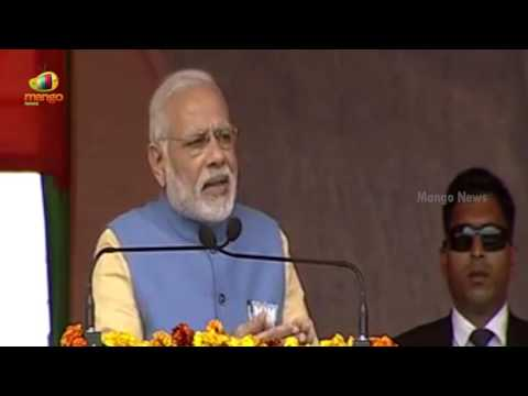 PM Modi Full Speech in Aligarh | Accused Oppositions For Stopping Anti-Corruption laws | Mango News