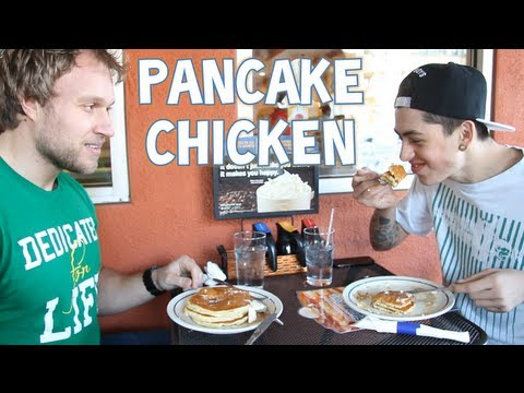 Pancake Chicken w/ Sam Pepper | Furious Pete