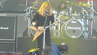 Megadeth - Public Enemy No.1 ( New Song ) BIG 4 Live at Sonisphere Festival Knebworth UK 2011