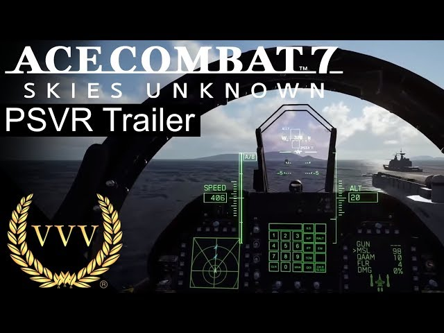 Ace Combat 7 PSVR Trailer