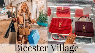 COME LUXURY SHOPPING! NEW BICESTER VILLAGE DESIGNER OUTLET HAUL 2020 | Gucci, Balenciaga, Burberry