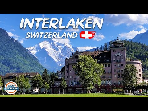 Discover Interlaken Switzerland and the Lauterbrunnen Valley