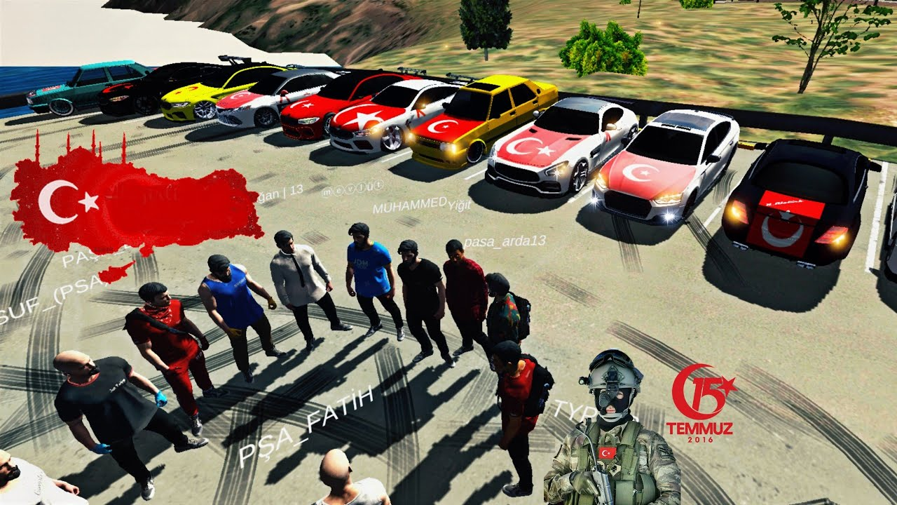 ASKER UĞURLAMA ROLEPLAY / Car Parking Multiplayer